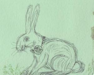 """Hare"" by Sally Nemesis"
