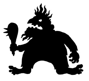 """Troll"" by Hugh D'Andrade (courtesy of Wikimedia Commons)"
