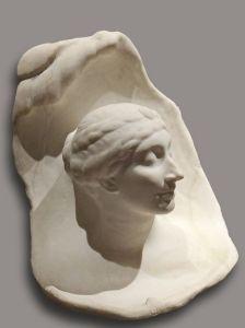 La naissance d'Aphrodite by Antoine Bourdelle