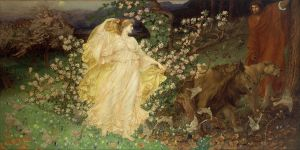 Venus and Anchises by William Blake Richmond. Courtesy of Wikimedia Commons.