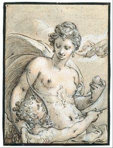 Venus by Hendrick Goltzius