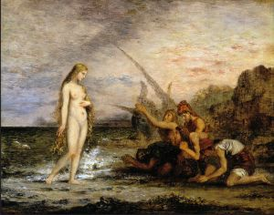 The Birth of Venus by Gustave Moreau. Courtesy of Wikimedia Commons.