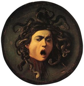 """Medusa"" by Caravaggio. Courtesy of Wikimedia Commons."