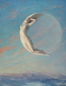 """Selene"" by Albert Aublet"