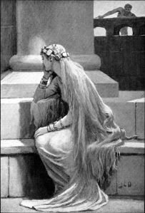 """Sif"" by Charles Dollman (1909)."