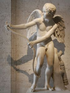 Eros, from the Capitoline Museum; courtesy of wikimedia commons
