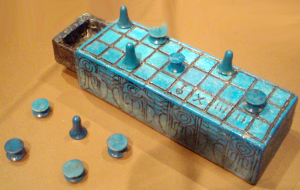 See board belonging to Amunhotep III. Image courtesy of wikimedia commons.